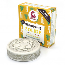Shampoing Solide à l'argile blanche et verte | Cheveux Normaux