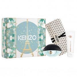 Kenzo World | Coffret Eau de Parfum avec Lait Corps et pochette Kenzo