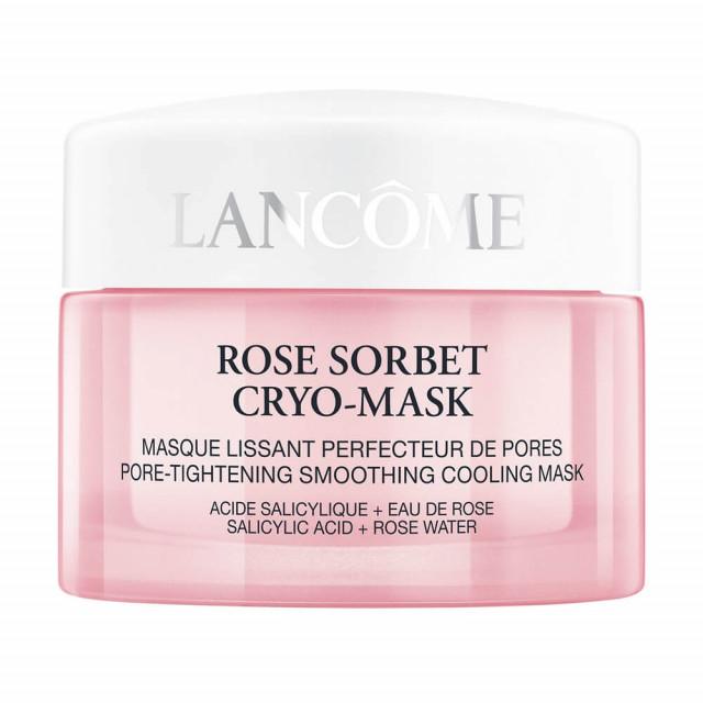 Rose Sorbet Cryo-Mask - LANCÔME|Masque Lissant Perfecteur de Pores