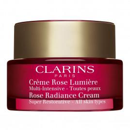 Crème Rose Lumière - CLARINS|Multi-Intensive - Toutes Peaux Éclat Instantané, Lift, Densité