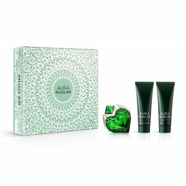 Aura   Coffret Eau de Parfum 30ml + Soins Corps