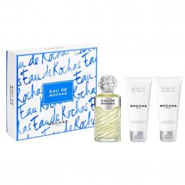 Eau de Rochas | Coffret Eau de Toilette 100 ml + Lait Parfumé pour le Corps 100 ml + Gel Douche Parfumé 100 ml