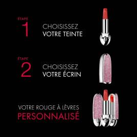Rouge G de Guerlain | La Teinte de Rouge à Lèvres Sheer Shine, Voile Teinté Brillant